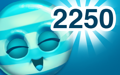 Blue Cookie 2250 Badge - Cookie Connect