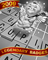 Crossword Cupid Badge - Sweet Tooth 2