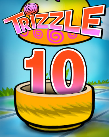 Rank 10 Badge - Trizzle