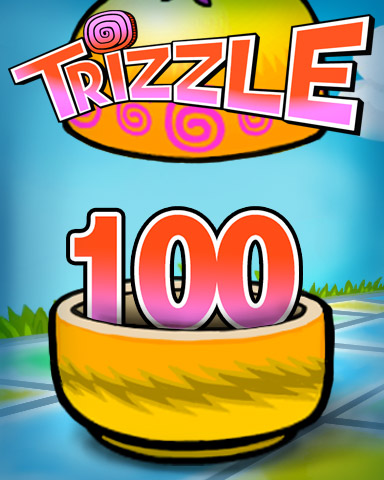 Rank 100 Badge - Trizzle
