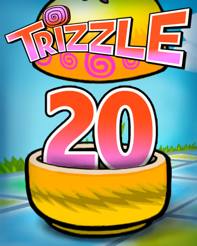 Rank 20 Badge - Trizzle