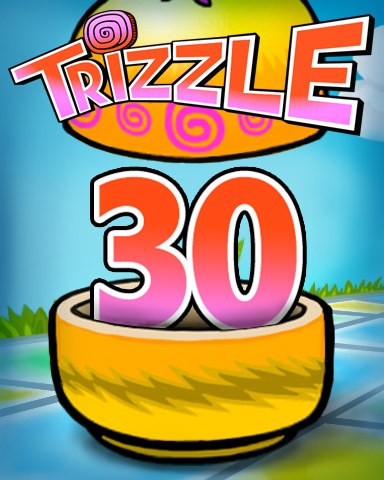 Rank 30 Badge - Trizzle
