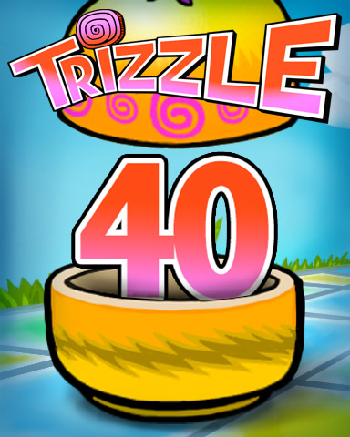 Rank 40 Badge - Trizzle