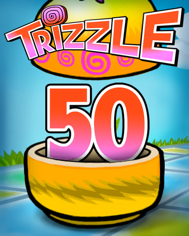Rank 50 Badge - Trizzle