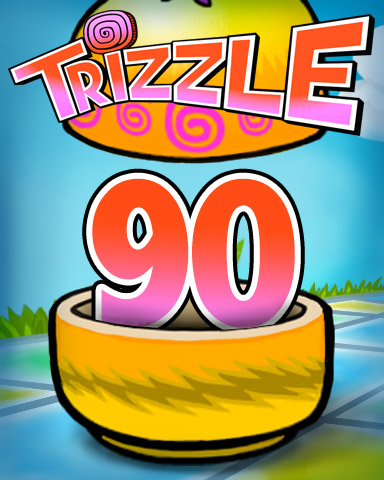 Rank 90 Badge - Trizzle