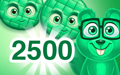Green Cookie 2500 Badge - Cookie Connect
