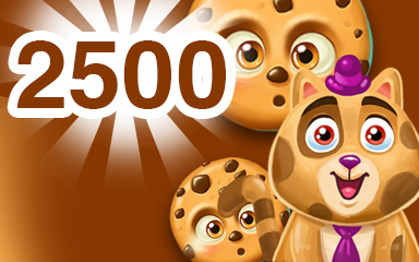 Chocolate Cookie 2500 Badge - Cookie Connect