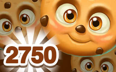 Brown Cookie 2750 Badge - Cookie Connect