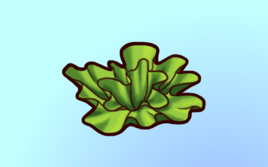 Soggy Lettuce Badge - Quinn's Aquarium