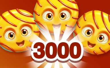 Yellow Cookie 3000 Badge - Cookie Connect
