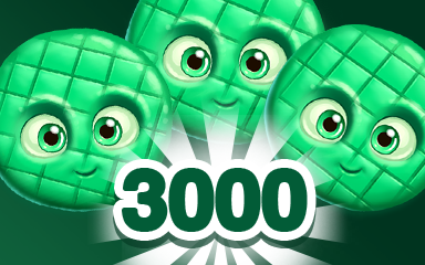 Green Cookie 3000 Badge - Cookie Connect