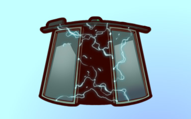 Electric Slide Badge - Quinn's Aquarium