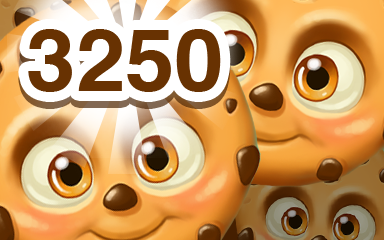Brown Cookie 3250 Badge - Cookie Connect