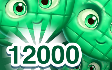 Green Cookie 12000 Badge - Cookie Connect
