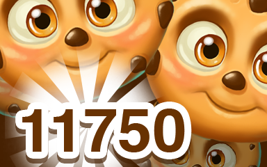 Brown Cookie 11750 Badge - Cookie Connect