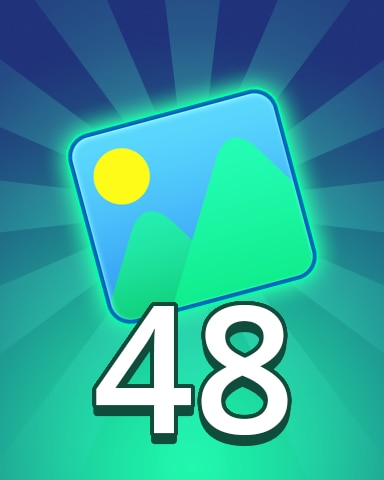 Theme 48 Badge - Pogo Daily Sudoku