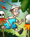 Hunting For Treasure Badge - Jigsaw Treasure Hunter HD