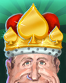 Crown Of Spades Badge - Payday FreeCell