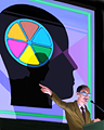 Brain Power Badge - TRIVIAL PURSUIT Daily 20