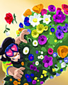 Flower Climber Badge Flower Daze May 2, 2013