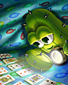 Under Cover Player Badge - Pogo Addiction Solitaire