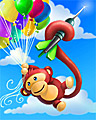 Up N' Away Badge - Bloons2