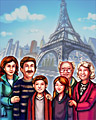 Paris Portrait Badge - Big City Adventure