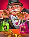 Hold The Lines Badge - MONOPOLY Slots