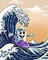Pogo Great Wave Badge