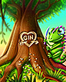 Gin Lover Badge - Jungle Gin