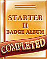 Pogo Starter II Album Badge