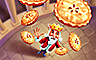 Pie In The Sky Badge - Payday FreeCell