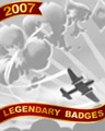 Soaring Aces Badge - First Class Solitaire
