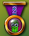 Spike's Marathon 2 Badge - Trizzle