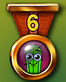 Spike's Marathon 6 Badge - World Class Solitaire HD