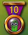 Spike's Marathon 10 Badge - Stack'em HD