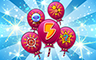 1,000 Power-Ups Badge - Poppit! Bingo
