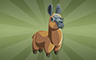 Stuffed Llamas Badge - Poppit! Bingo