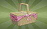 Picnic Basket Badge - Poppit! Bingo