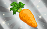 Silver Carrot Badge - Poppit! Bingo