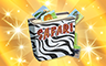 Gold Safari Album Badge - Poppit! Bingo