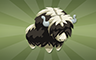 Stuffed Yak Badge - Poppit! Bingo