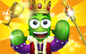 Gold King Badge - Poppit! Party