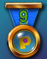 Club Pogo Marathon 9 Badge - Hog Heaven Slots