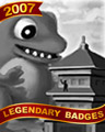 Big Friend Badge - Sparks