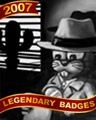 Detective Nestor Badge - First Class Solitaire