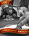 High-Stakes Hand Badge - First Class Solitaire