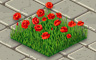 Poppies Badge - Solitaire Gardens