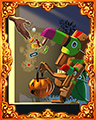 Halloween Hijinks Hard Badge - Jungle Gin