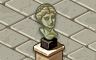 Bust Badge - Solitaire Gardens